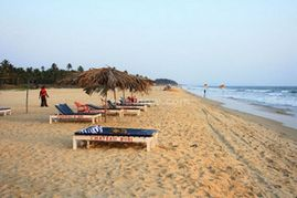 пляж Маджорда, Гоа, Индия, Южный Гоа