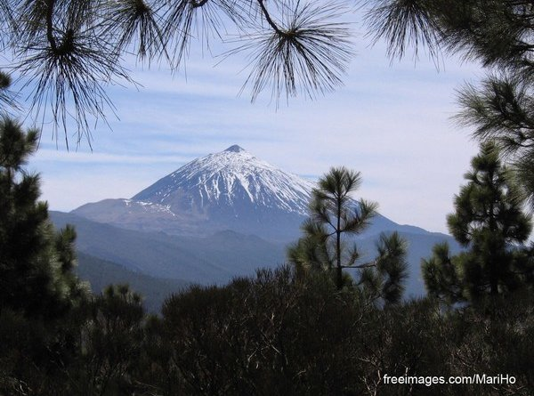 вулкан, Тейде, Тенерифе, природа