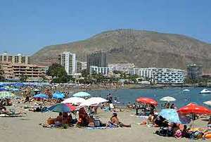 Пляж Лос-Кристьянос, Тенерифе
