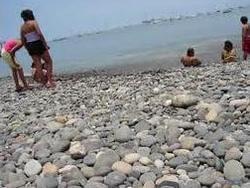 пляж Кальяос, Тенерифе, пляж, галечный