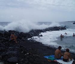 пляж Олегарио, Тенерифе, восточное побережье, уединённый пляж