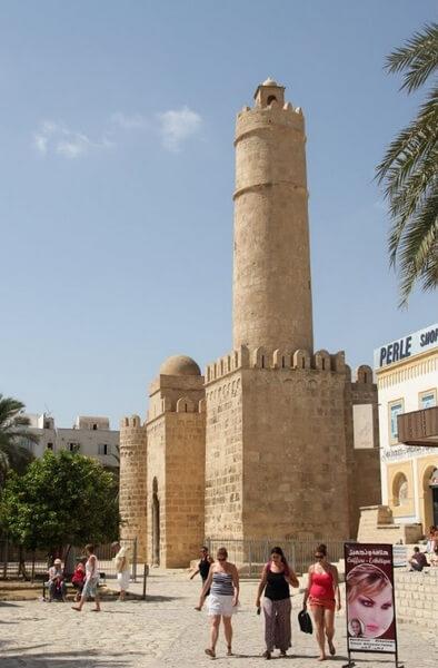 Крепость рибат, Сусс, Тунис