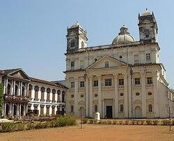 Церковь Святого Каэтана, храм, Старый Гоа, Гоа
