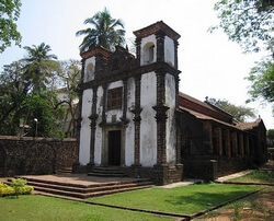 Часовня Святой Катрин, Гоа, Старый Гоа, достопримечательность, храм