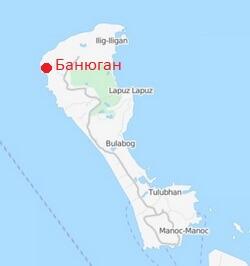 Plyazh-Banyugan-beach-Borakajj-karta