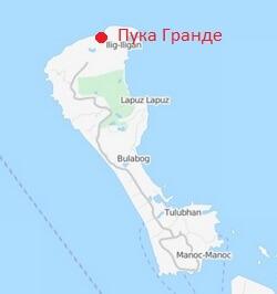 Plyazh-Puka-Grande-Borakajj-karta