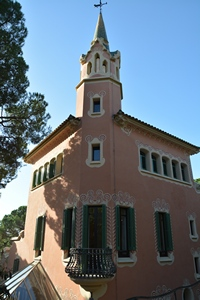 Дом музей Гауди в парке Гуэля, Барселона