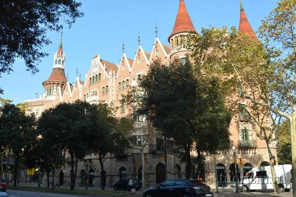 Дом с шипами, Барселона
