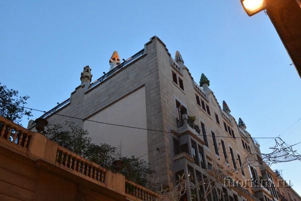Дворец Гуэля, Барселона