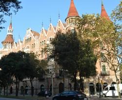 Дом Террадес, Барселона