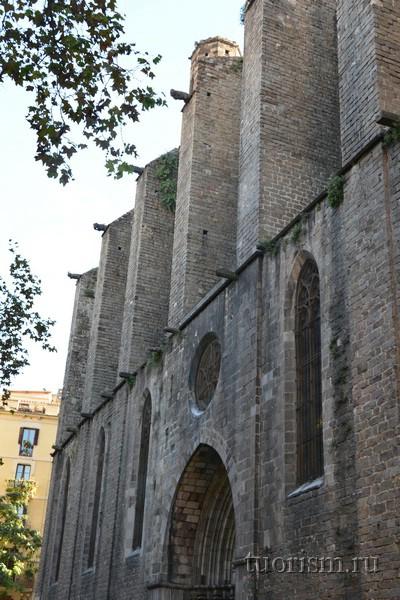 Контрфорсы базилики Санта Мария дель Пи, Барселона