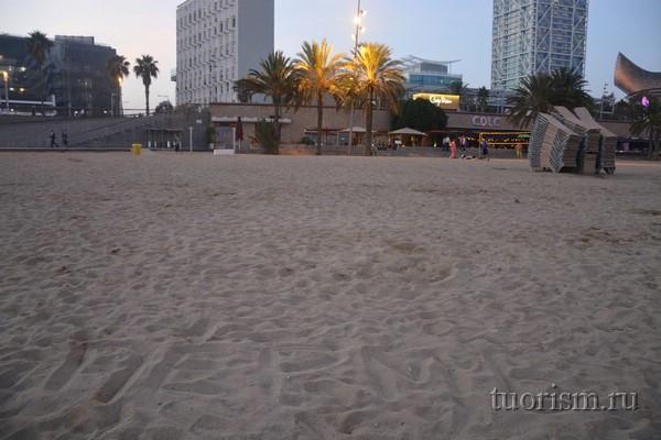 Somorrostro beach, beach of Barcelona