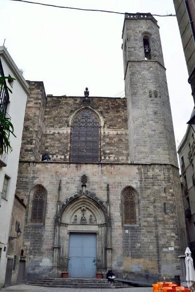 Базилика Юстуса и Пастора, Барселона
