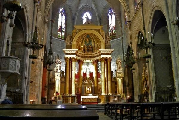Алтарь базилики Юстуса и Пастора, Барселона