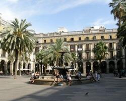 Королевская площадь, Барселона