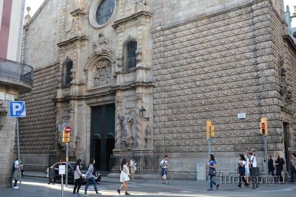 Церковь Вифлеемской Божьей Матери, достопримечательность Барселоны
