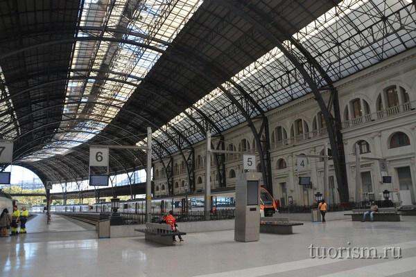 Железнодорожная станция Франса, Барселона