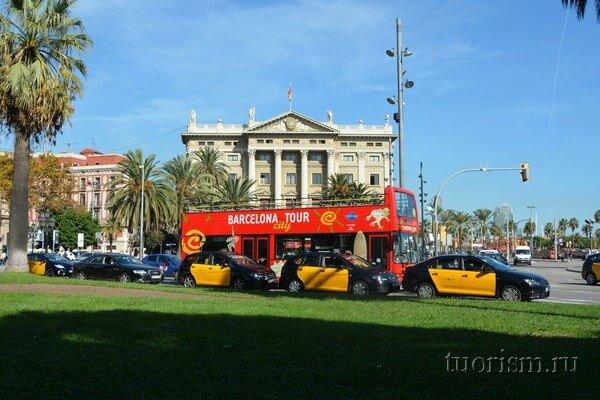 Туристический автобус, Барселона