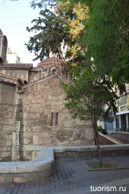 Часовня Святой Варвары, Афины