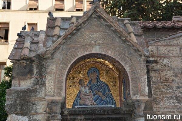 Мозаика Богоматерь Одигитрия
