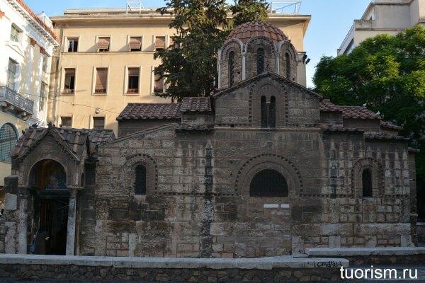 Церковь Богородицы Капникарея, Church of Panagia Kapnikarea