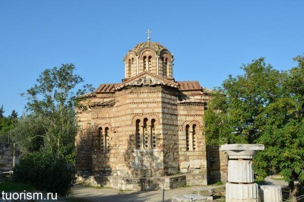 Церковь Святых Апостолов, Church of the Holy Apostles in Athens