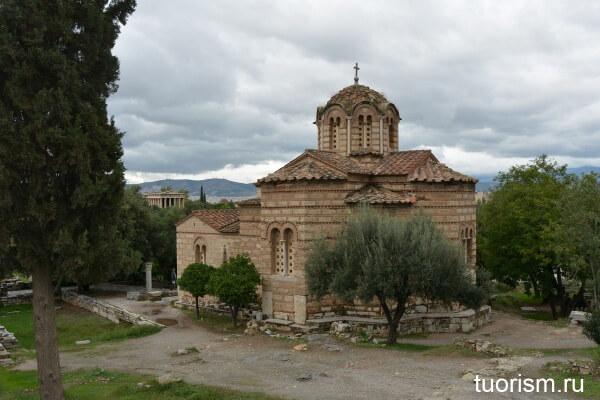 Церковь Святых Апостолов, Афины, Holy Apostles of Solaki