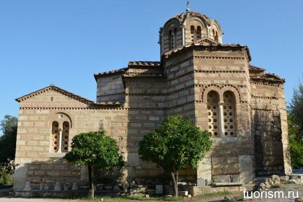 Церковь Святых Апостолов, достопримечательность Афин