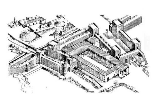 Помпейон у Дипилонских ворот, достопрмиечательность Афин