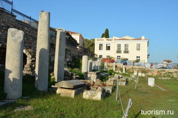 Стоа Римской агоры Афин