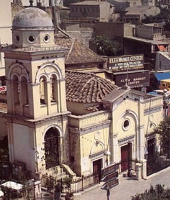 Церковь Пантанасса, 1911, Афины