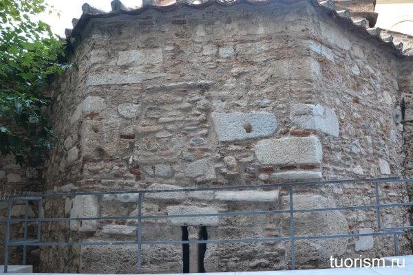 Апсида византийский церкви Пантанасса