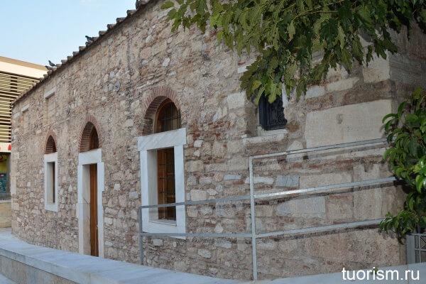Церковь Пантанасса, old church in Athens 11 century