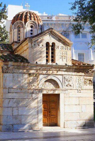 Церковь Святого Елевферия, западный фасад