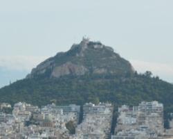 Холм Ликавит, Афины