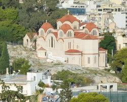 Церковь Святой Марины, Афины