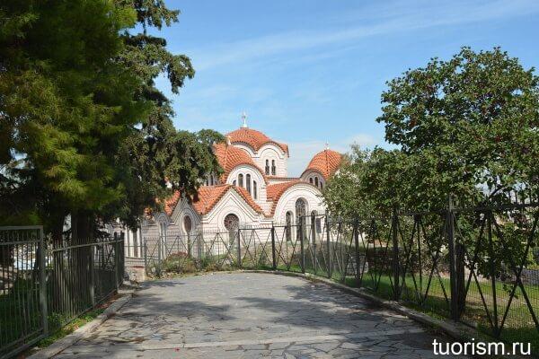 Церковь Святой Марины, Church of Agia Marina in Athens