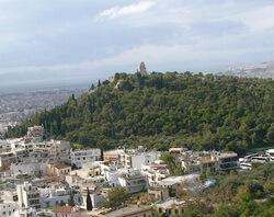 Холм Филопаппа, Афины