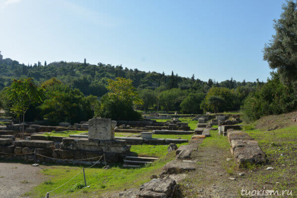 метроон, афинская агора, metroon, archives, ancient Greece, agora, buildings, athenian agora