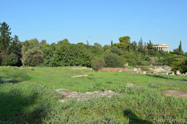 эакон, агора, Афины, античная агора, aiakeion, agora, Athens