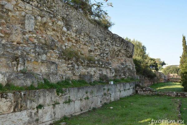 Южная стоа 2, агора, афинская агора, Афины, south stoa 2, agora, Athens