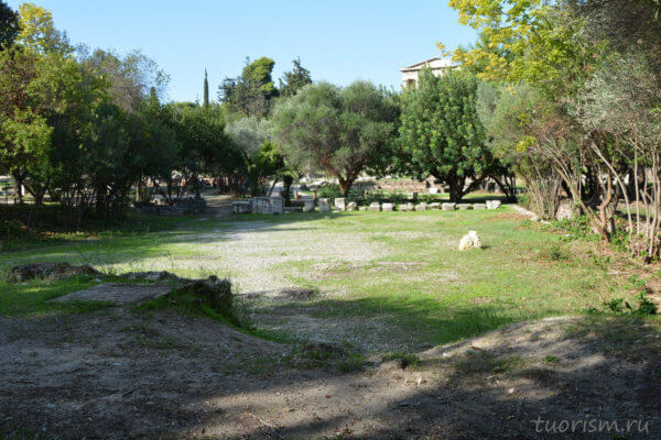 храм Ареса, агора, афинская агора, temple of Ares, Athens, agora