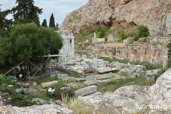 Храм Асклепия, Афины