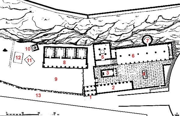 Схема Асклепиона