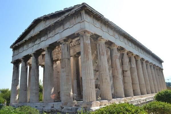 Храм Гефеста, достопримечательность Афин