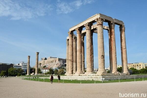 Храм Зевса Олимпийского, Olympieion