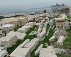 Халькотека, Акрополь