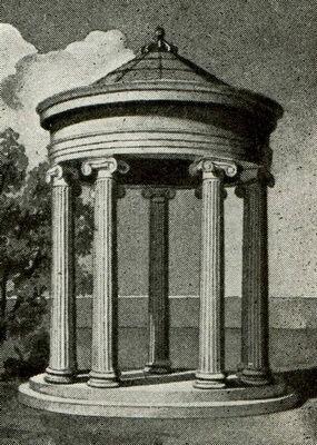 Как выглядел храм Ромы и Августа, Акрополь