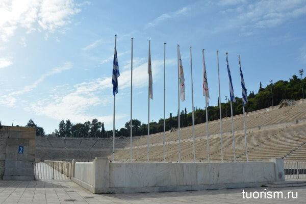 Панафинейский стадион в Афинах, Panathenaic Stadium