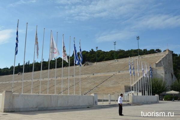 Панафинейский стадион Панатинаикос, достопримечательность Афин